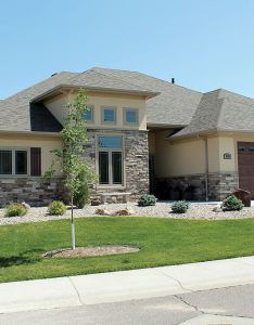 House also great plan  think the garage wing is workable and exterior rh pinterest