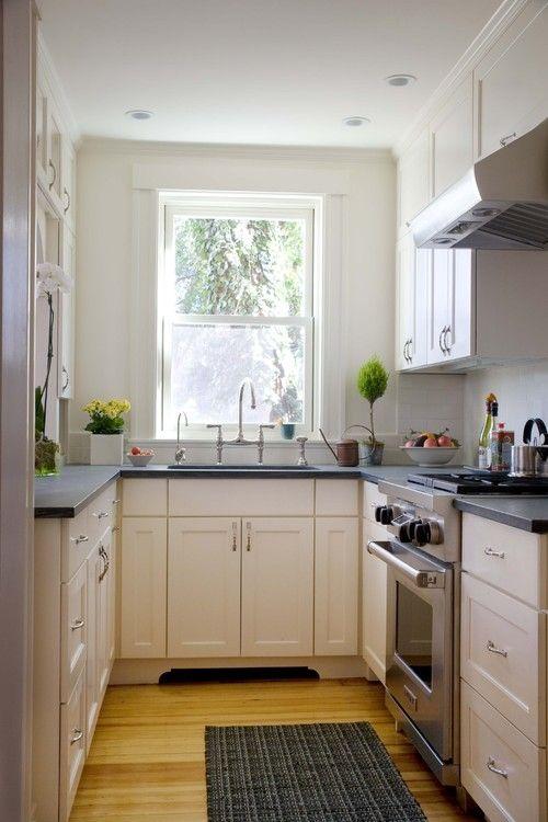 Galley Shaped Kitchen Layout