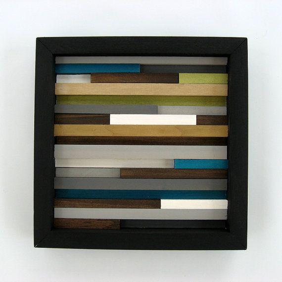 Wood wall art modern home decor abstract sculpture also rh pinterest