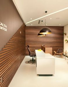 Miami interior designers from dkor interiors doing  modern scandinavian inspired project for doctor   office located in aventura fl also best images about on pinterest reception desks ba  rh