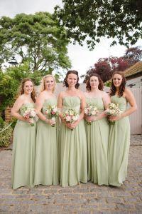 Green Bridesmaids Ebony Rose - Monica | Bridesmaids ...