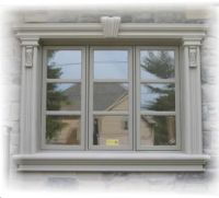 Stucco, Stucco Trim, Stucco Cornice and Sill at Prime