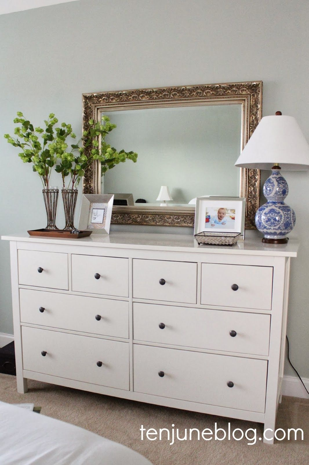 ten june: master bedroom dresser vignette | for the home
