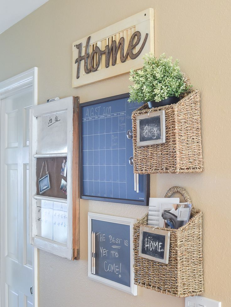 Decorating also farmhouse style family command center things to do pinterest rh