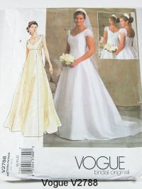 Vogue Wedding Dress Patterns | Vogue Wedding Dress Pattern ...