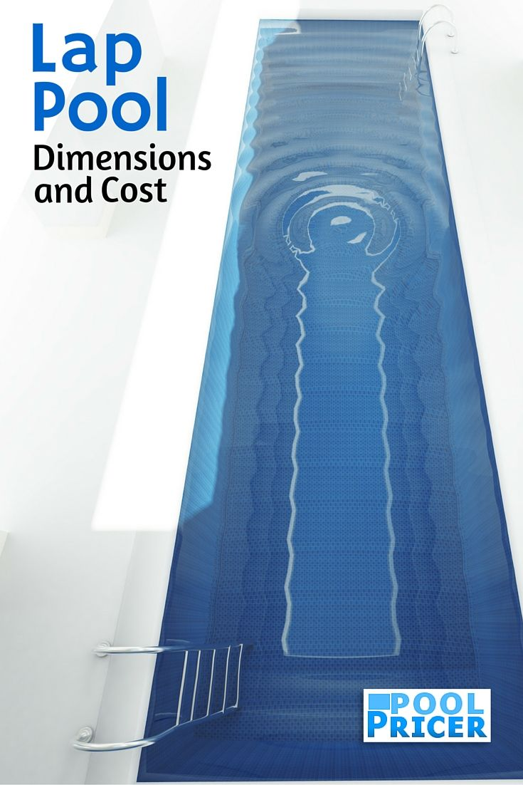 Lap Pool Dimensions and Cost