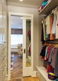 mirrored pocket door for closet | Closet | Pinterest ...