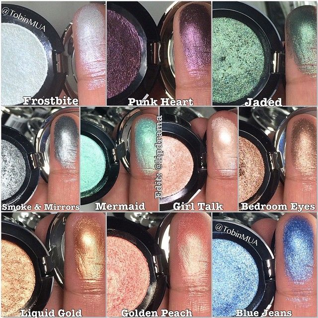 Nyx Prismatic Eyeshadow Swatches Google Search