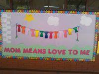 Mother's day bulletin board.   Classroom ideas   Pinterest ...