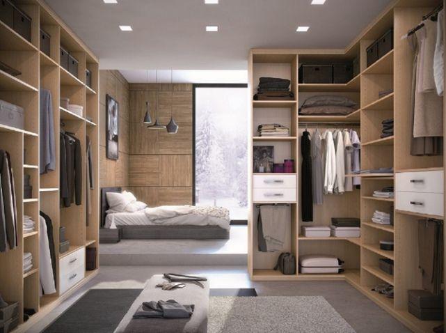 Suite parentale avec grand dressing  Chambre parental  Pinterest  Grand dressing Suite
