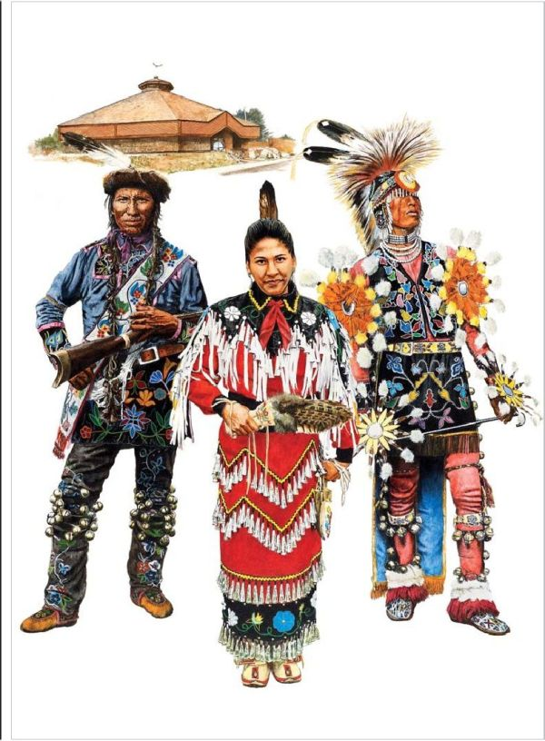 North American Indian Tribes of the Great Lakes Ohio