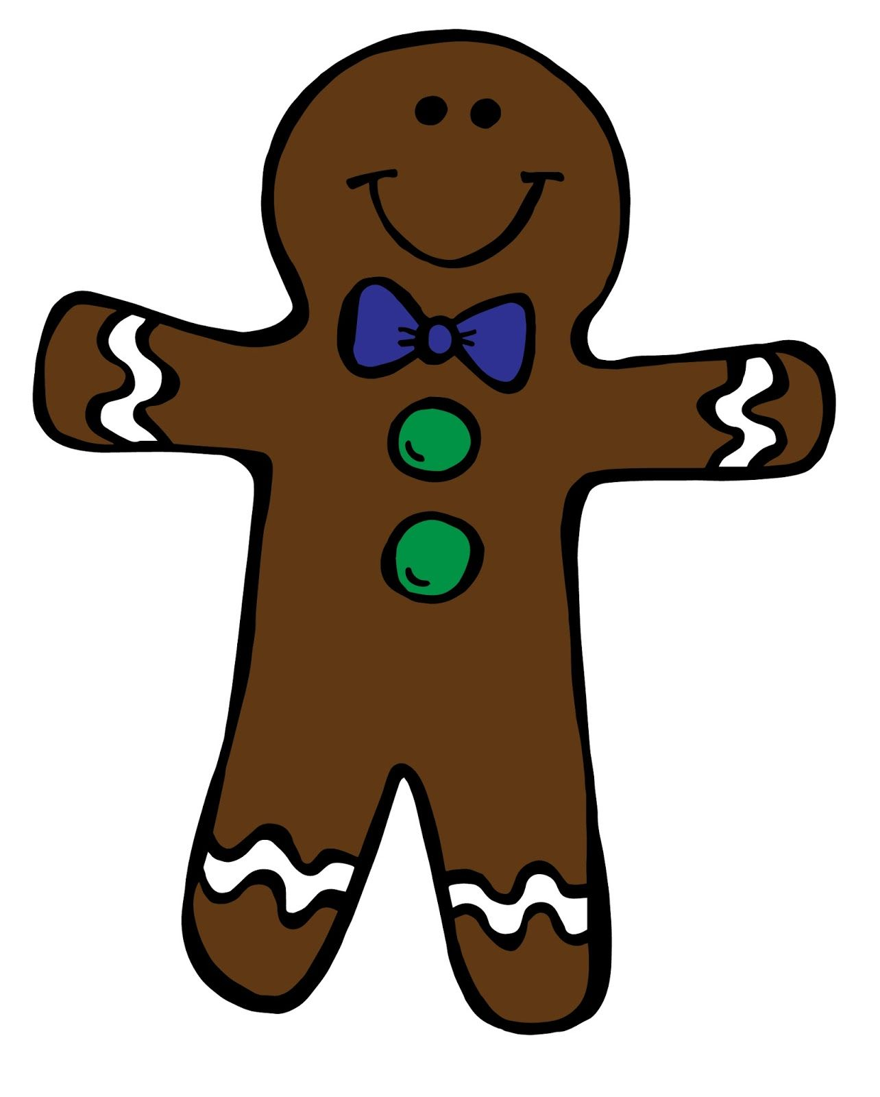 Free Gingerbread Boy Amp Girl Clipart