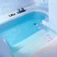 In ground bath tub! :) | Home ideas | Pinterest | Bath ...