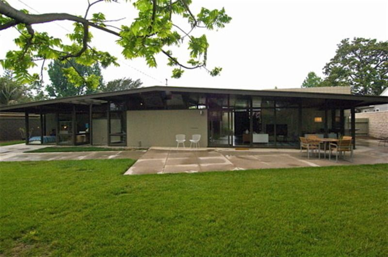 Greige Exterior Color For Midcentury Modern Mid Century Home