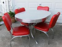 Buy VINTAGE 50'S, 60'S KITCHEN TABLE AND CHAIRS at ...
