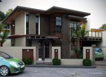 Modern 2 Storey House Designs