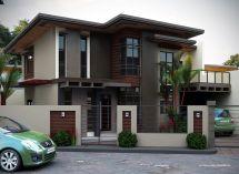 Modern Two-Storey House Design