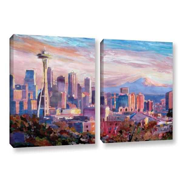 Seattle Skyline Canvas Art