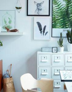 Margo utiliza las plantas de interior para poner una nota color en su hogar minimalista also rh pinterest