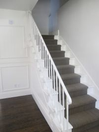 grey carpet on stairs - Google Search | Bannisters ...