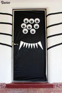 Halloween Door Decorations: DIY Silly Spider - Darice ...