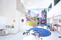 Modern Day Care Center Architectural Design Inspired from ...