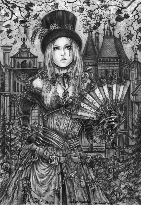 Victorian Era. Time Of Steampunk Annaarmona