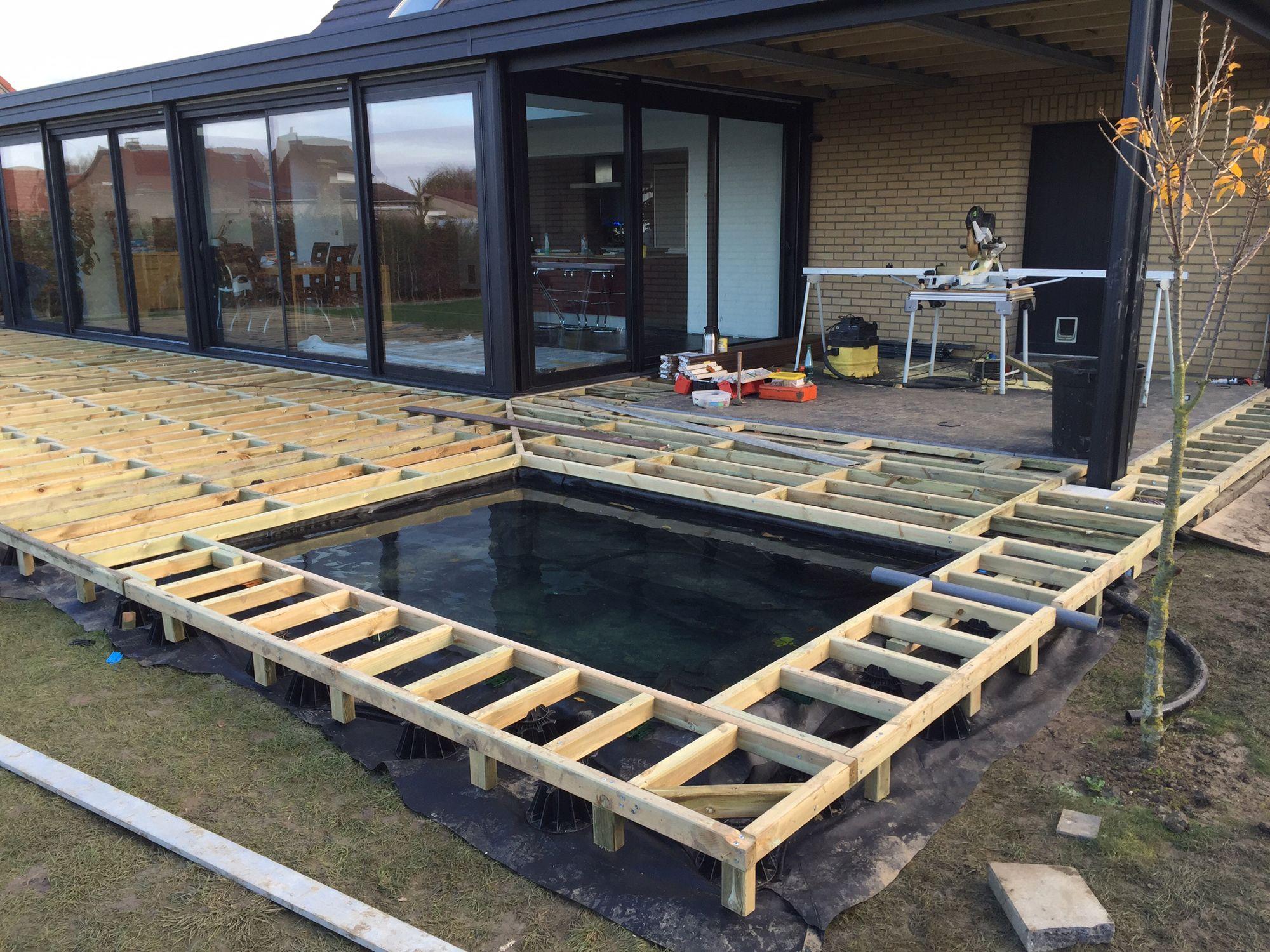 Amnagement jardin modification terrasse terrasse en bois arras 62  Terrasses  Pinterest