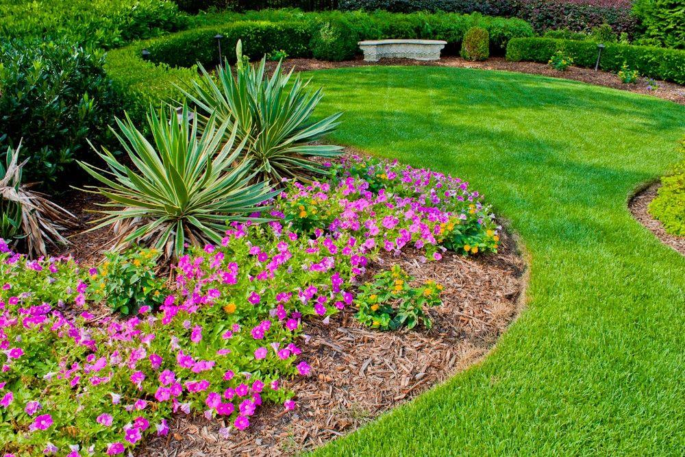 Flower Bed Landscaping Ideas Flower Beds Ken Mark Turf–Atlanta