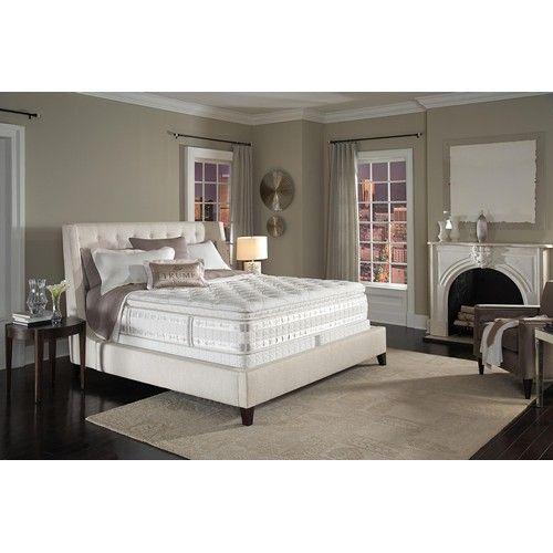 Serta Iseries Levani Queen Super Pillow Top Mattress Baer S Furniture Miami Ft