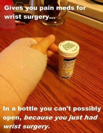Pain meds for wrist surgery - Rottenecards Funny Pictures ...