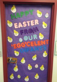Happy Easter from our Egg'celent Infants | Bulletin Boards ...