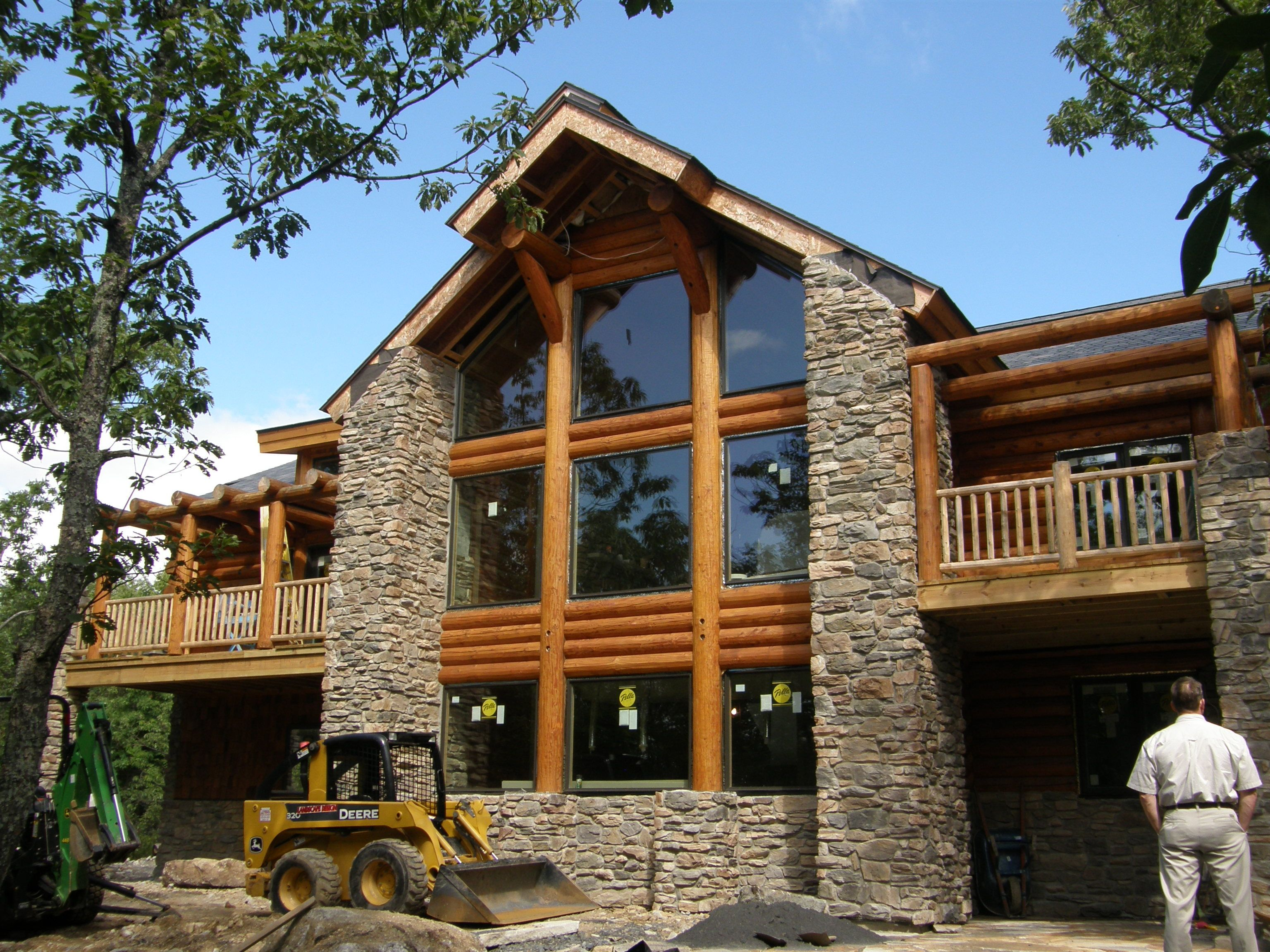 Modern Designs For Classic Quilts Wood Design A Classic Log Home