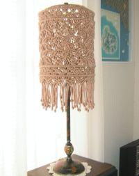 Macrame Lamp Shade for floor or table lamp | Macrame, Etsy ...