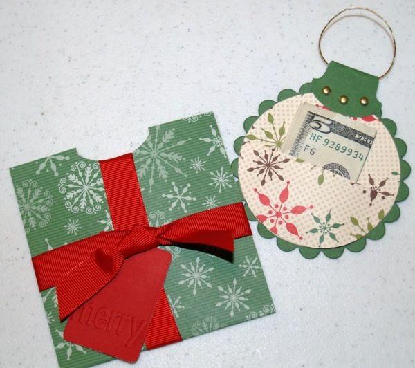 Geldgeschenke Weihnachten.Geldgeschenke Zu Weihnachten Basteln
