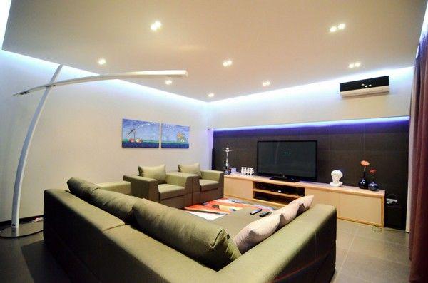 Wohnzimmer Deckenbeleuchtung Progo