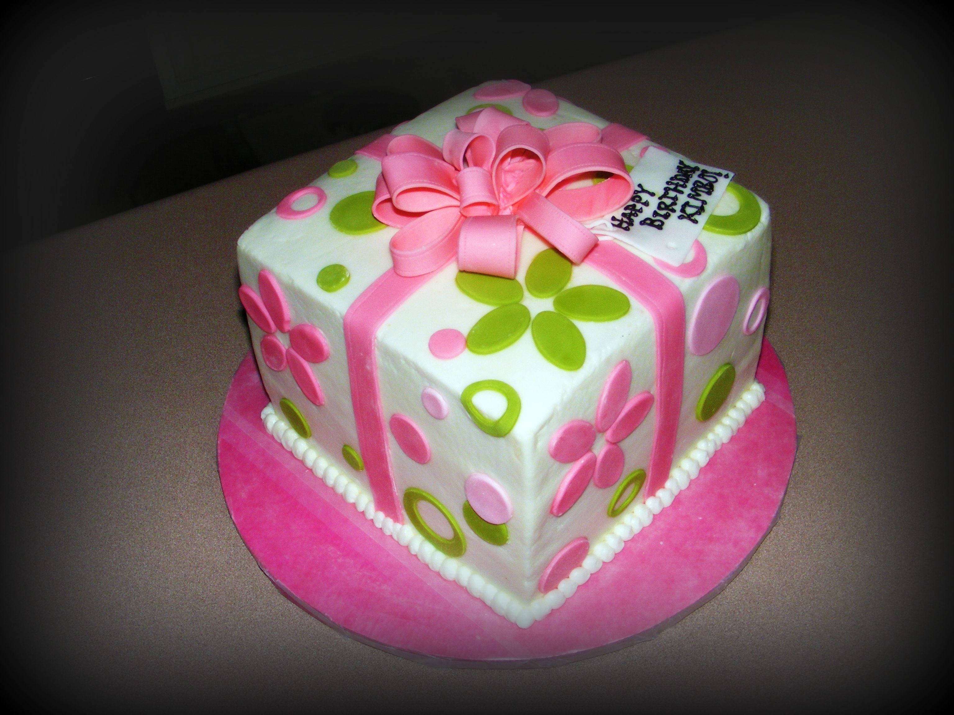Cute Birthday Cakes For Teens