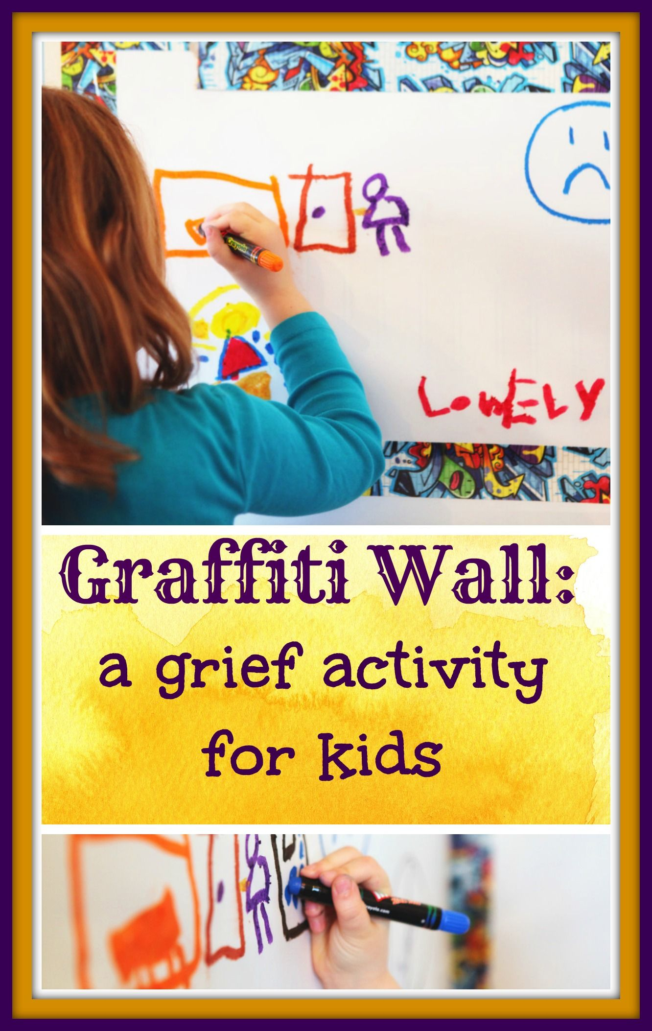 Great Activity For Helping Grieving Kids Or Any Kids