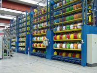 industrial wire spool rack | Vertical carousels / Cable ...
