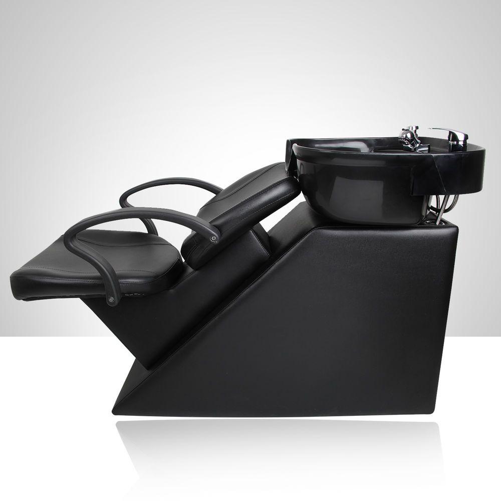 Salon Backwash Shampoo Barber Chair Bowl Sink Station