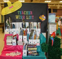 Book Fair Teacher Wish List Ideas