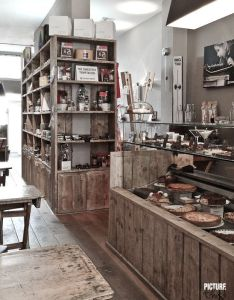 Beautiful bakery interior designs to make you feel peckish design and interiors also rh pinterest