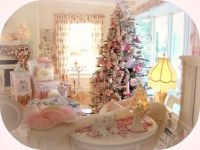 Pink Shabby Chic Christmas Decorating Ideas