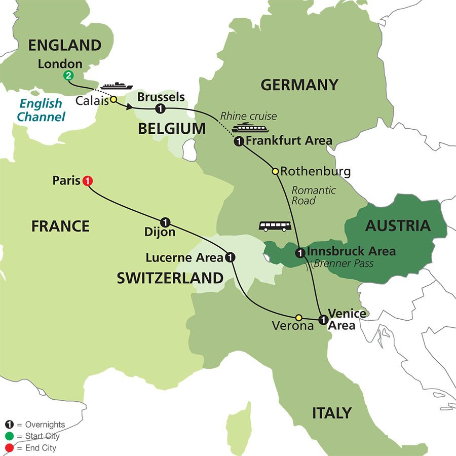 Eurotrip Vacation Packages