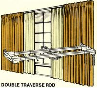 What Kind Of Curtains Go On A Traverse Rod | Curtain ...