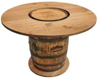 jack daniels whiskey barrel furniture ideas | For Bob ...