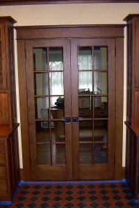 Interior Double French Doors = I think these would be