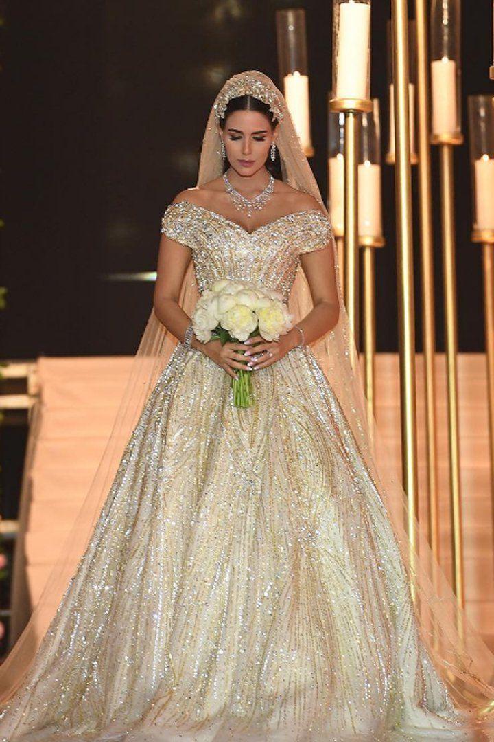 This Lebanese Brides Custom Wedding Dress Was So Magical
