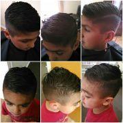 2 boys hipster fade haircut hard