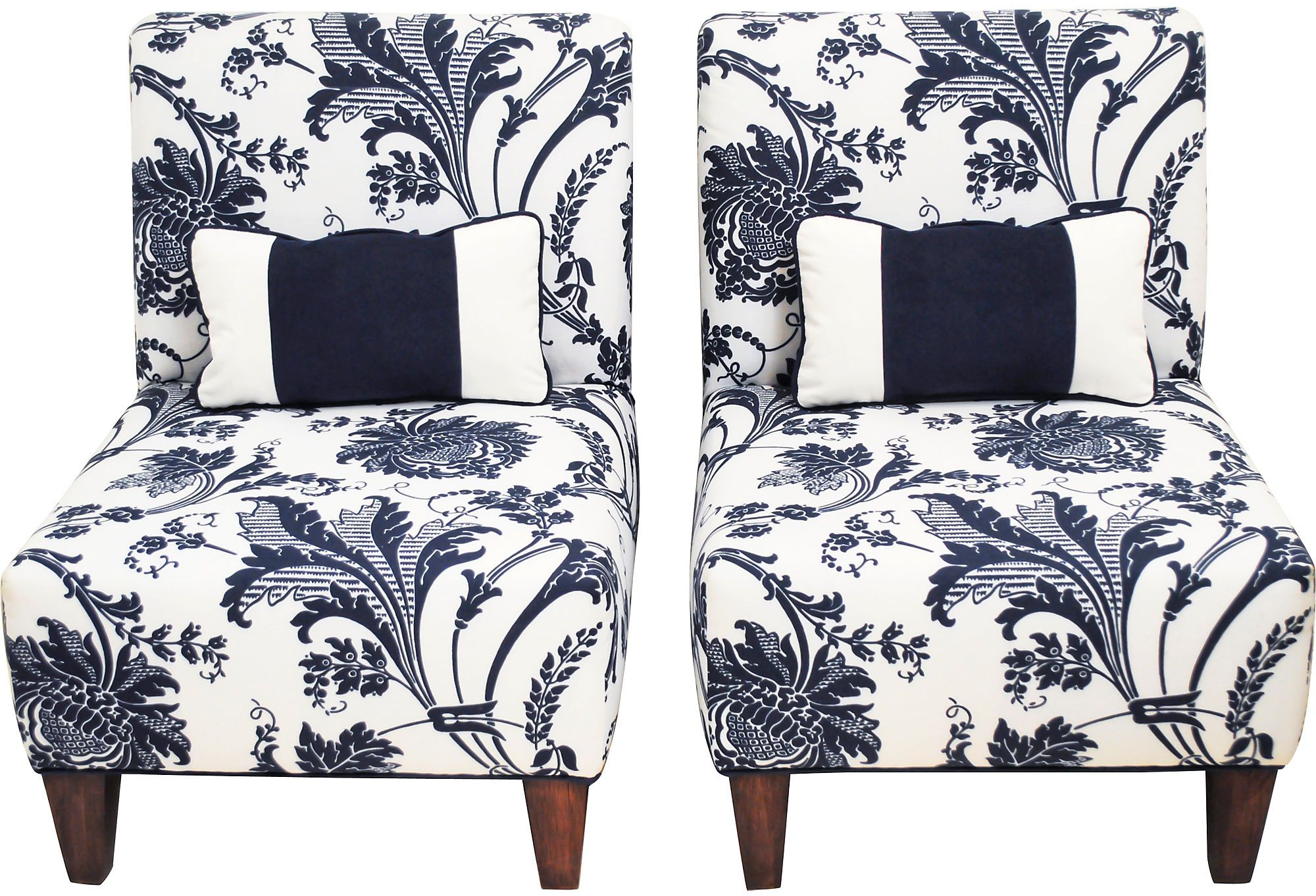 navy blue velvet slipper chair mid back as described by decorative interiors great pair of